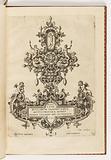 Title page from a suite of ten, entitled Monilium Bullarum Inauriumque Artificiocissimae Icones, Ioannis Collaert Opus Postremum