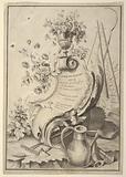 """Title Page, from """"Livre de Fleurs…"""""""