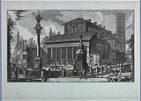 """Basilica of S Lorenzo fuori le Mura, """"Le Vedute di Roma"""""""