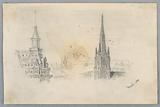 Two Sketches of Steeples