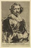 Portrait of Lucas Vorsterman I, from Icones Principum Virorum