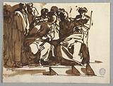 Saint Paul Preaching, after Raphael