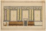 Elevation of a Side Chapel of the Congregation of St Roch in Rome