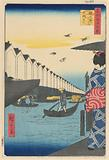 Yoroi Ferry, Koami-cho (Yoroi-no-watashi, Koami-cho) From the Series One Hundred Famous views of Edo