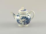 """Teapot with """"Three Flowers"""" Pattern"""