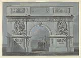 Design for a Triumphal Arch in Honor of the Polish General Skrzynecki