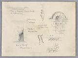 Architectural Sketches from Chenonceaux