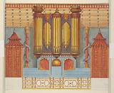 Design for the North Wall of the Music Room