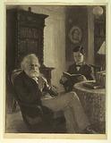 Longfellow in His Study