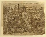 "Recto: Minerva, or ""Arma"" (Allegory of the Art of War), preliminary design for"