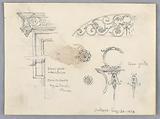 Architectural Sketches from Agnes Sorel's House, Oréans
