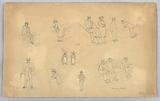 Figure Sketches at Blois