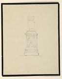 Design for an urn on a stand