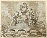 Sepulchral Monument for Felice Fontana, Professor of Philosophy, Padua