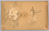 Two Sketches at Mont. St Michel.