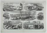 Our Army before Yorktown, Virginia
