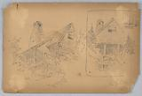 Two Sketches of Cottage