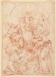 Study for an Alter Painting with Christ Child