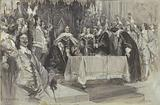 The Second Installation of Cromwell as Protector, in Westminster Hall, June 26, 1657