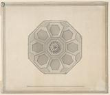 Design for Ceiling for the Basement Story, Carlton House, Pall Mall, London, England