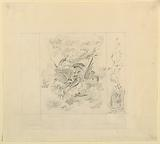 Wall Decoration, Dragons, possibly for Music Room, Royal Pavilion, Brighton