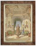 Design for a Moorish Smoking Room (Tabagie)
