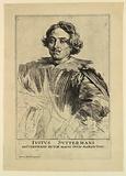 Portrait of Justus Sustermans, from Icones Principum Virorum
