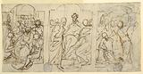 Three Stages of the Passion: The Mockery, Christ before Pilate, Flagellation