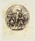The Triumph of Venus designed for the bedroom of Palazzo Milzetti, Faenza