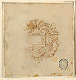 Design for a Brooch with Winged Boy