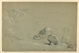 Sketch from Mount Chocorua