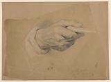 """Study of Right Hand for the Priest in the """"Communion of the Sick"""""""
