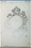 Design for an Escutcheon with Alternative Suggestions