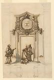 Design for a Doorway to the Sacristy of St Peter's, Rome