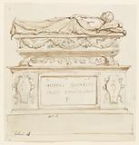 Design for a Sepulchral Monument for Filippo Lovazzi