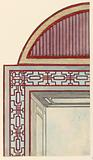 Ceiling Decoration, probably for the Conservatory/Music Room