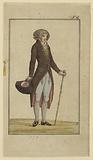 Design for Gentleman's Costume, Journal des Luxus und der Moden, No 6