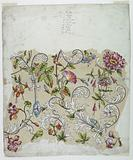 Trial Proof for a Flower Chintz
