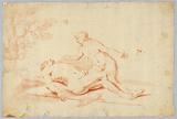Venus Beside the Sleeping Adonis