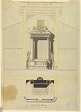 Project for the high altar in San Salvatore in Campo in Rome