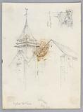 Sketch of Eglise St Pierre, Orléans