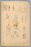 Figure Sketches at St Peter's