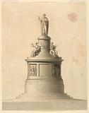 Elevation of a Monument to Francis I, Emperor of Austria