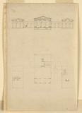 Elevation and Plan of a Country House