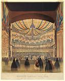 Brooklyn Sanitary Fair of 1864, the Academy of Music