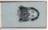 Sketchbook Page: Portrait of a Man
