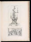 Design of a Fountain in a Grotto and Architectural Elements