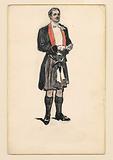 Scotsman in Evening Attire