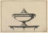 Design for a Tureen and Tray