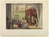 """Austria No 1: Plate from """"Dickinson's Comprehensive Pictures of the Great Exhibition of 1851,"""" published 1854"""